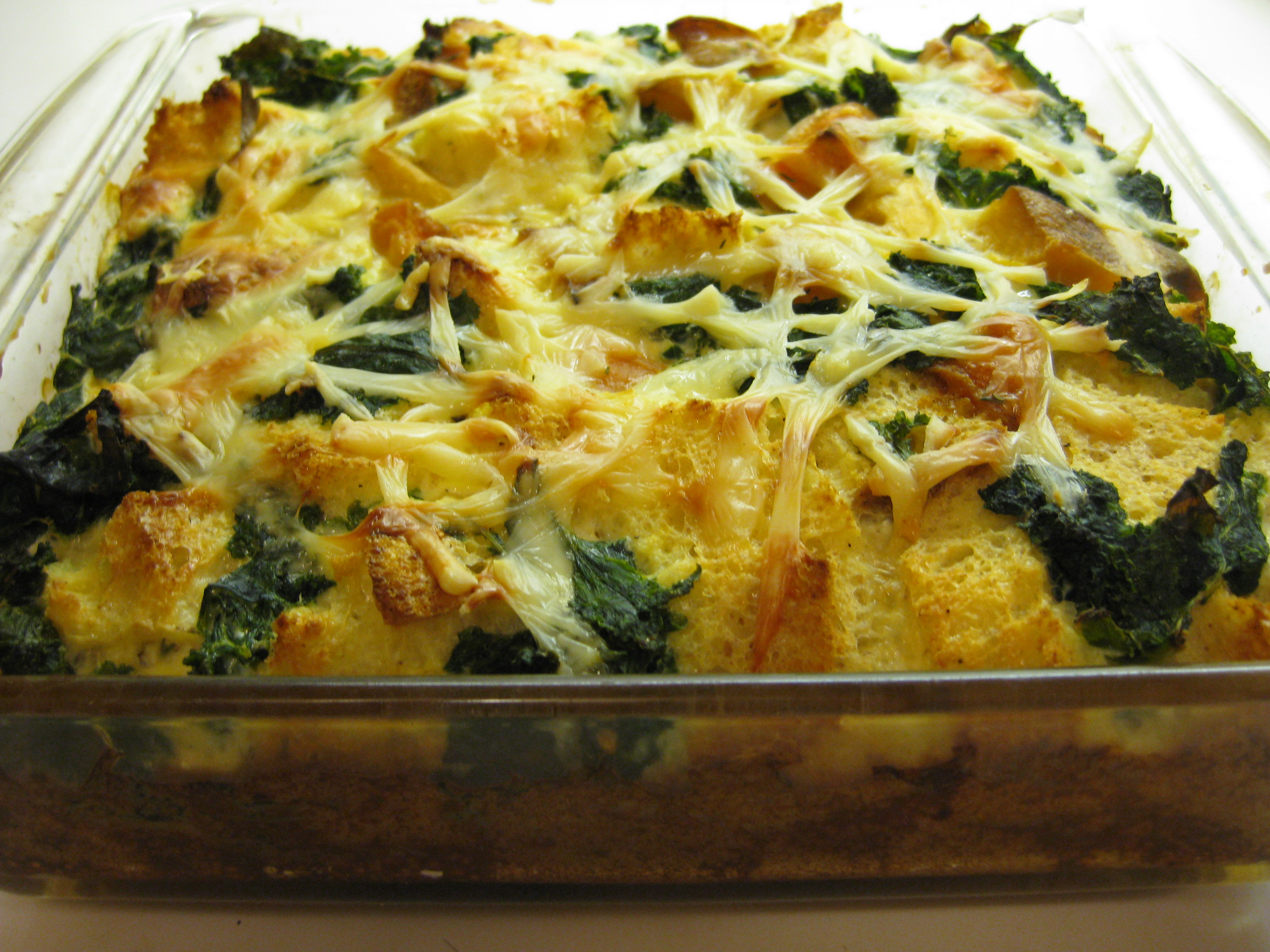 Savory Bread Pudding: Roots and Greens – PROSPECT THE PANTRY