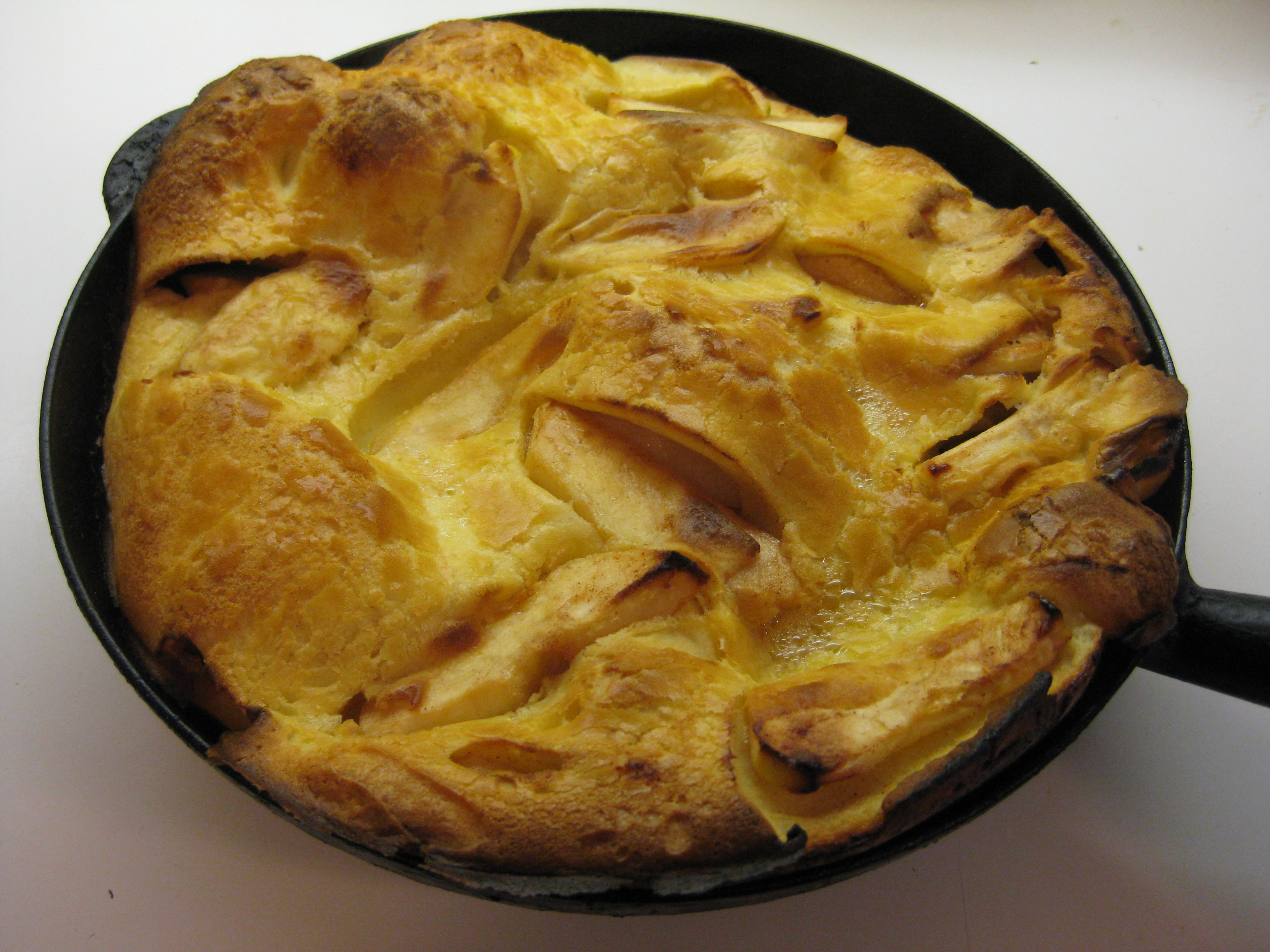 Oven-baked Apple Pancake adapted from Marion Cunningham's Breakfast ...