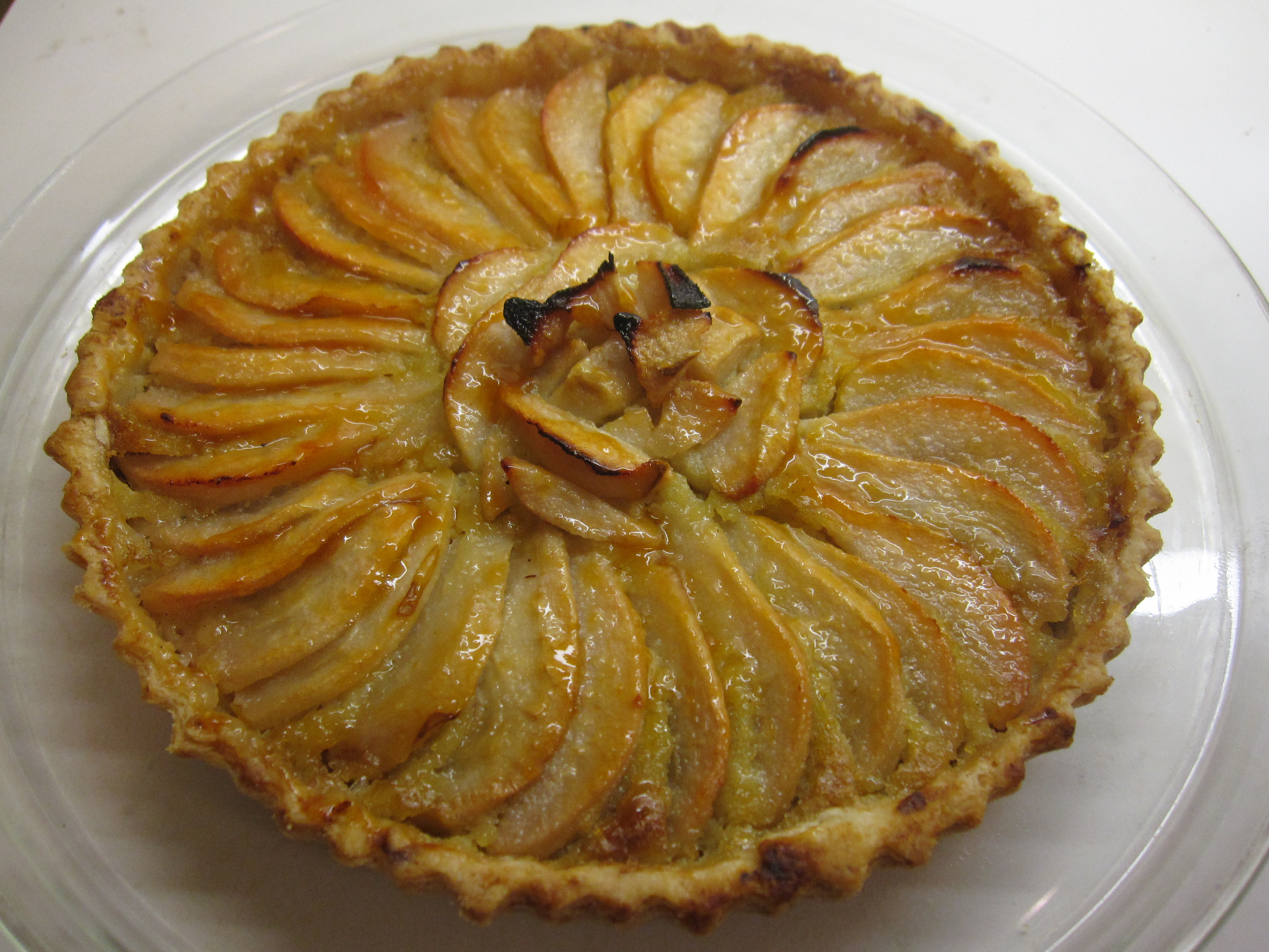 Pear and Chestnut Tart | Prospect: The Pantry