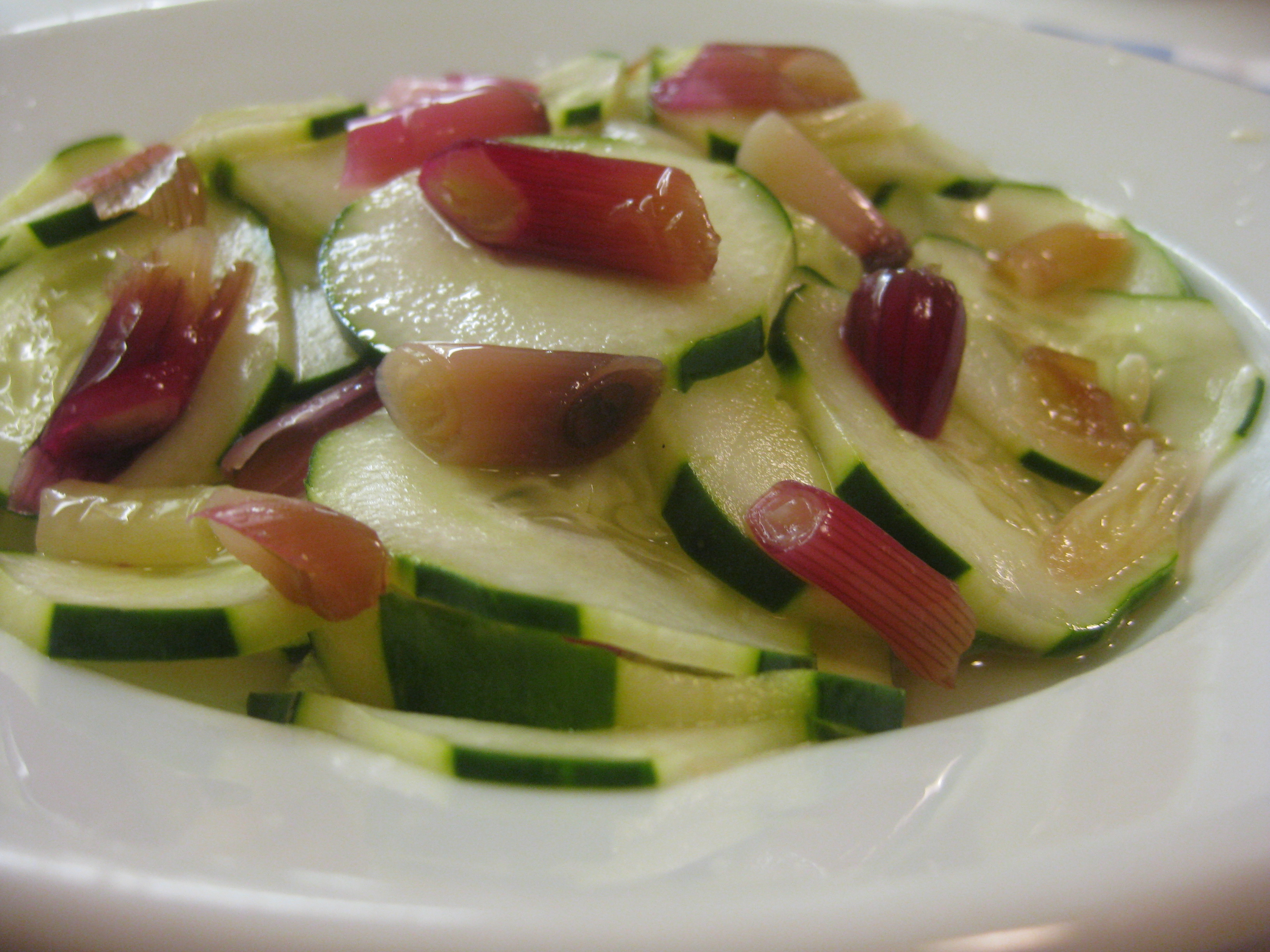 Cucumber Salad with Pickled Spring Onions | Prospect: The ...