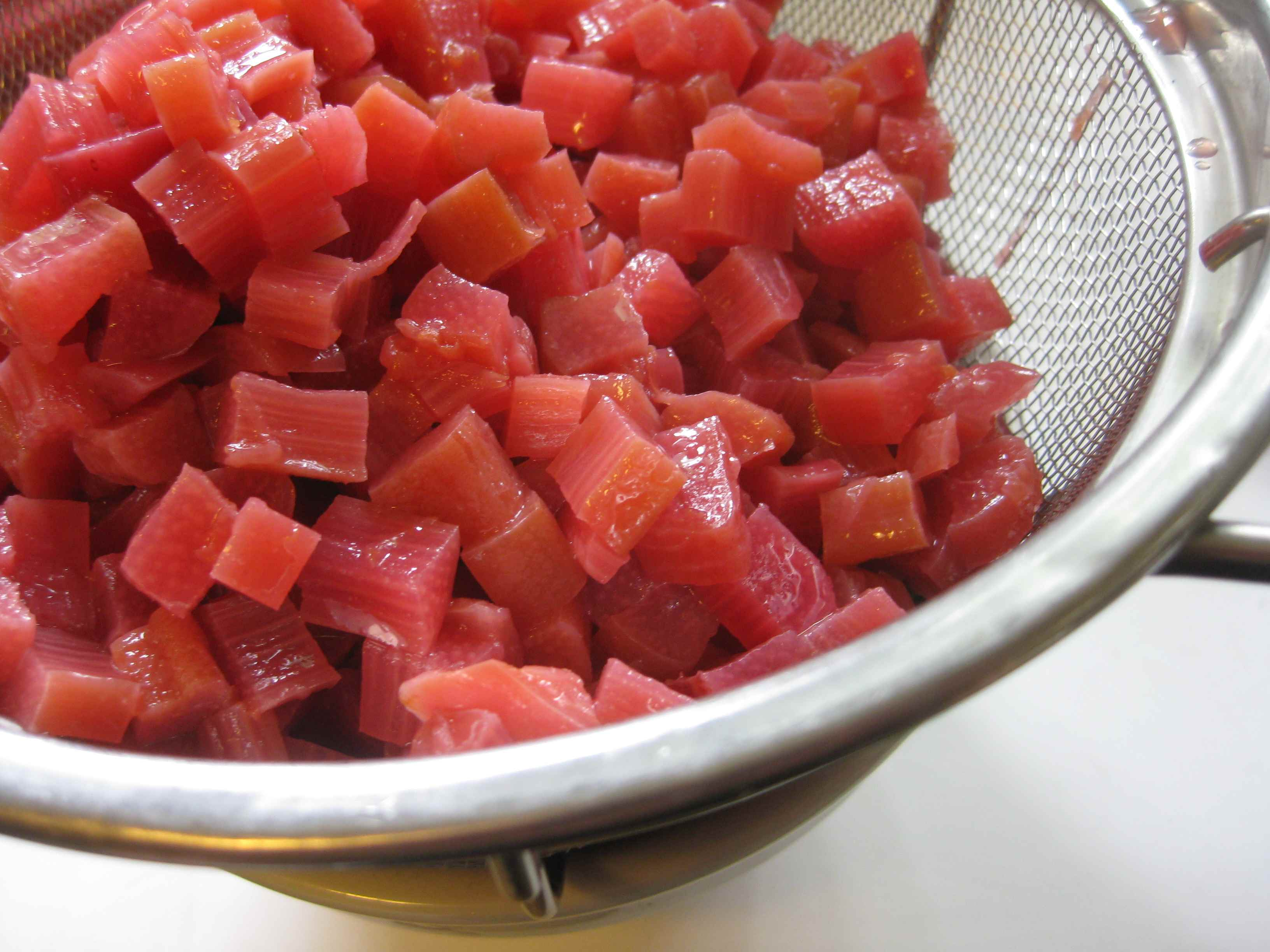 Rhubarb-Beer Jam adapted from Paul Virant, The Preservation Kitchen