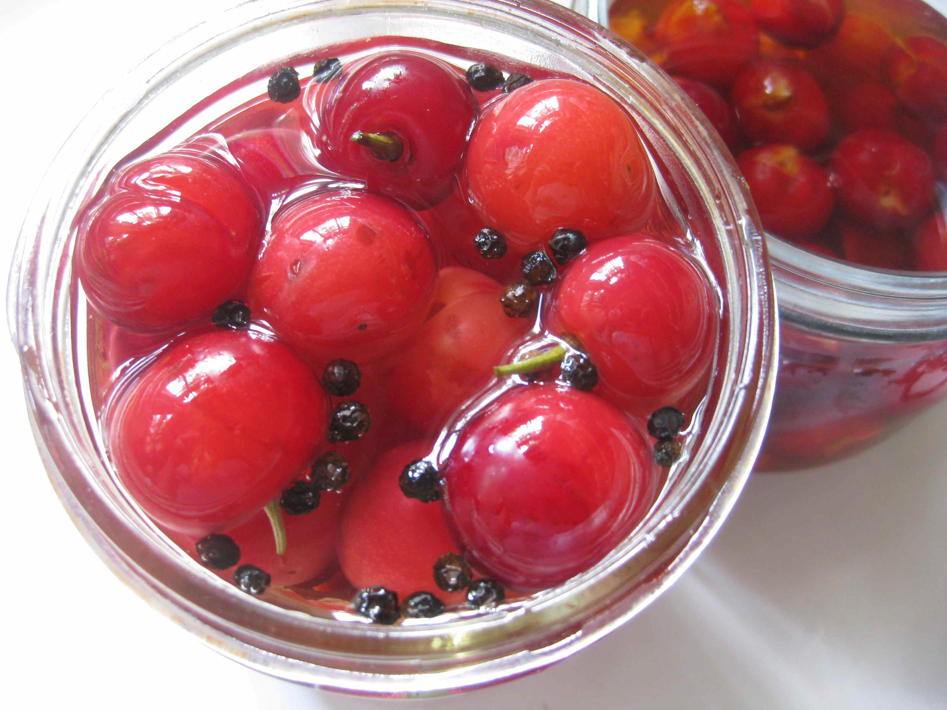 Preserving the Cherry Harvest: Pickling Cherries Two Ways ...