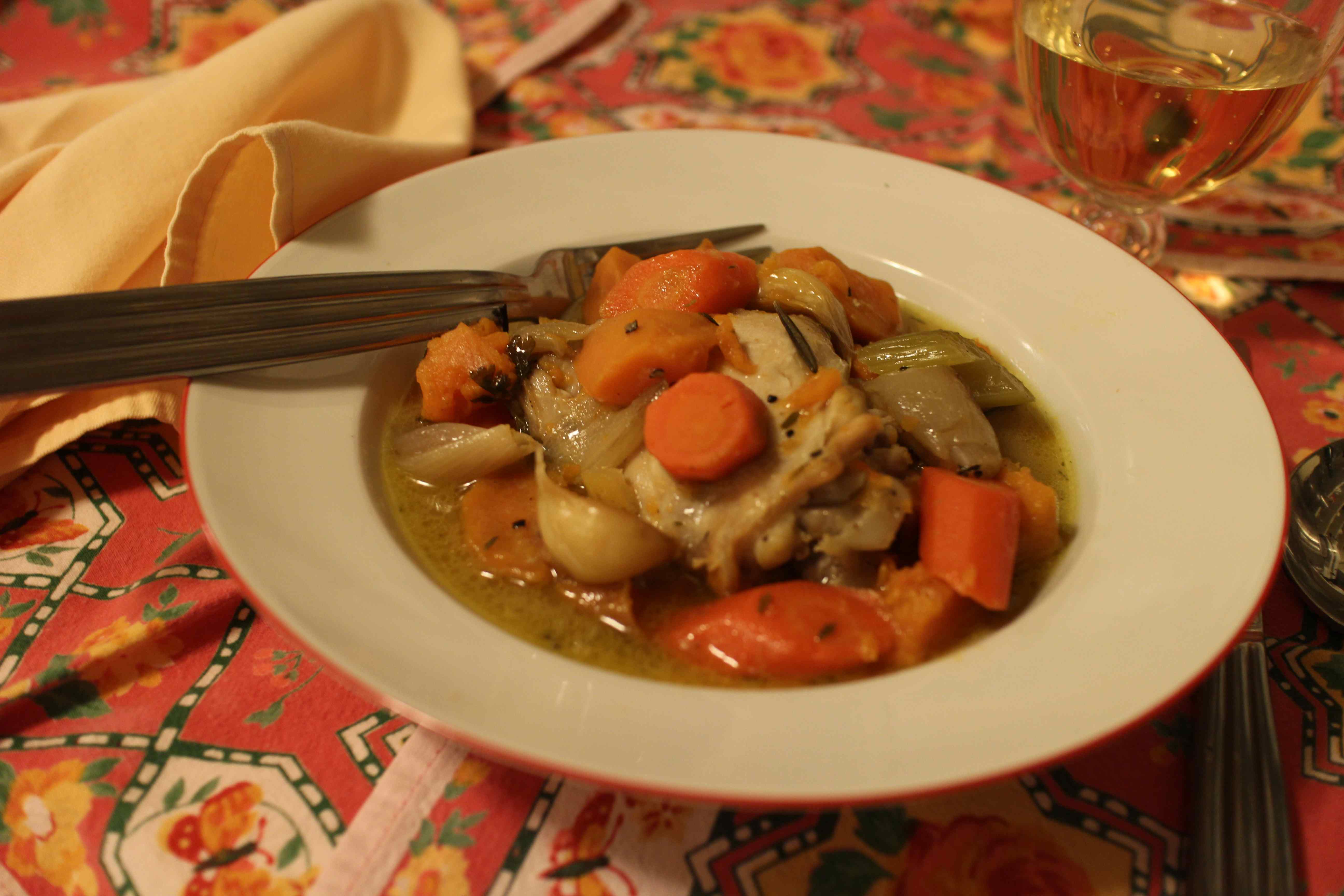 Cook the Books: Dorie Greenspan's Chicken in a Pot ...
