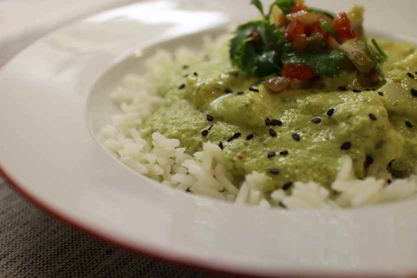 2013 0312 IMG_0931 Green curry cod detail