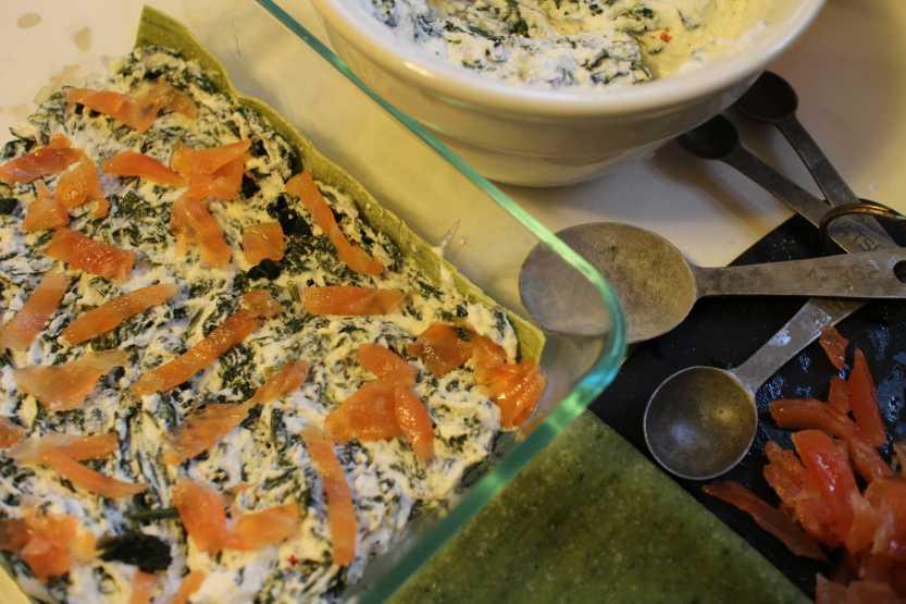2013 0429 IMG_1310 Spinach lasagna prep