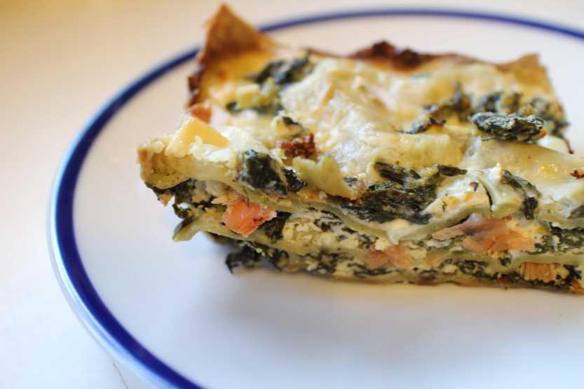 2013 0429 IMG_1337 Spinach Lasagna