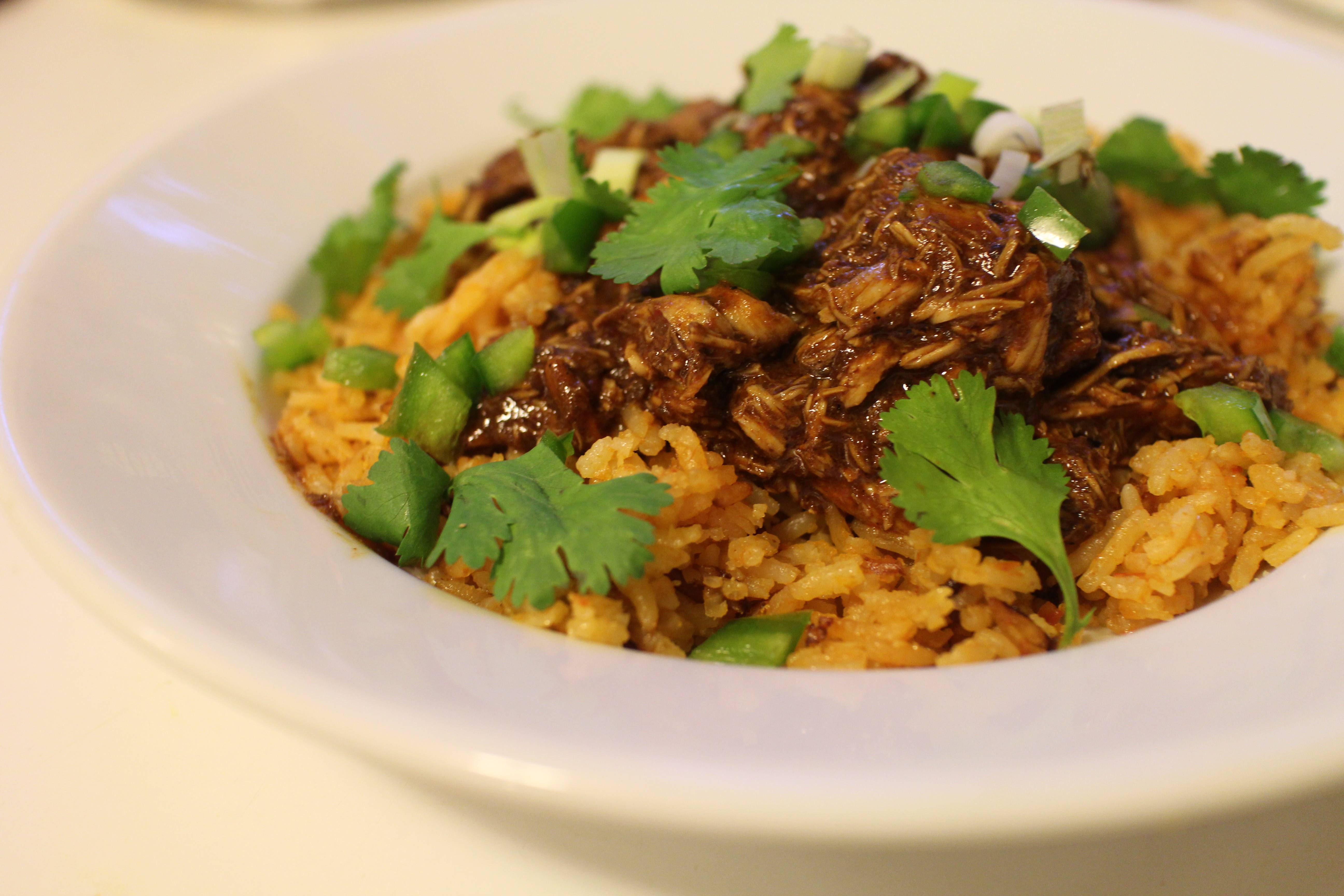 ... -Roasted Pork Chops With Yellow Pepper Mole Sauce Recipe — Dishmaps