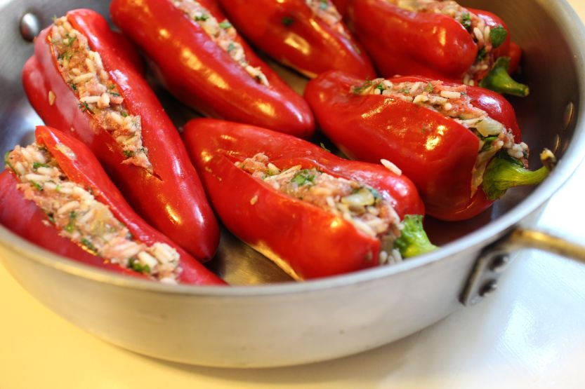 2013 0928 IMG_3198 Stuffed peppers