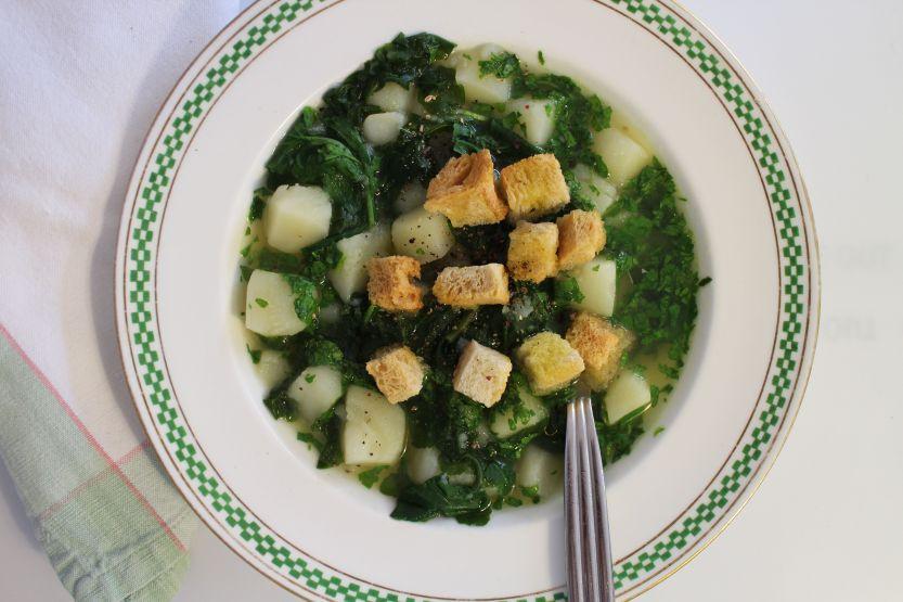 2013 1019 IMG_3367 Arugula soup