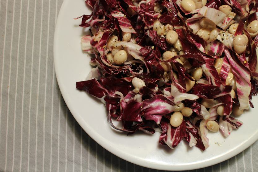 2013 1031 IMG_3436 Radicchio and white bean salad