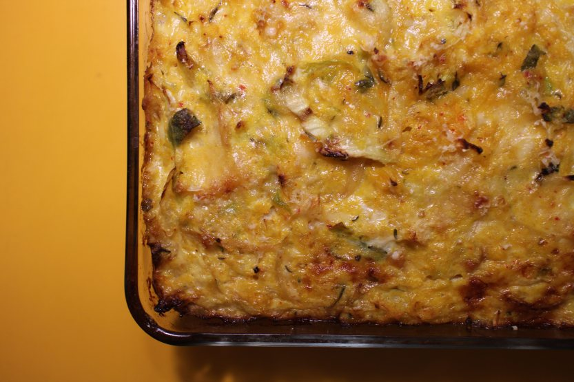 2014 0308 IMG_3953 Squash and cabbage gratin 3