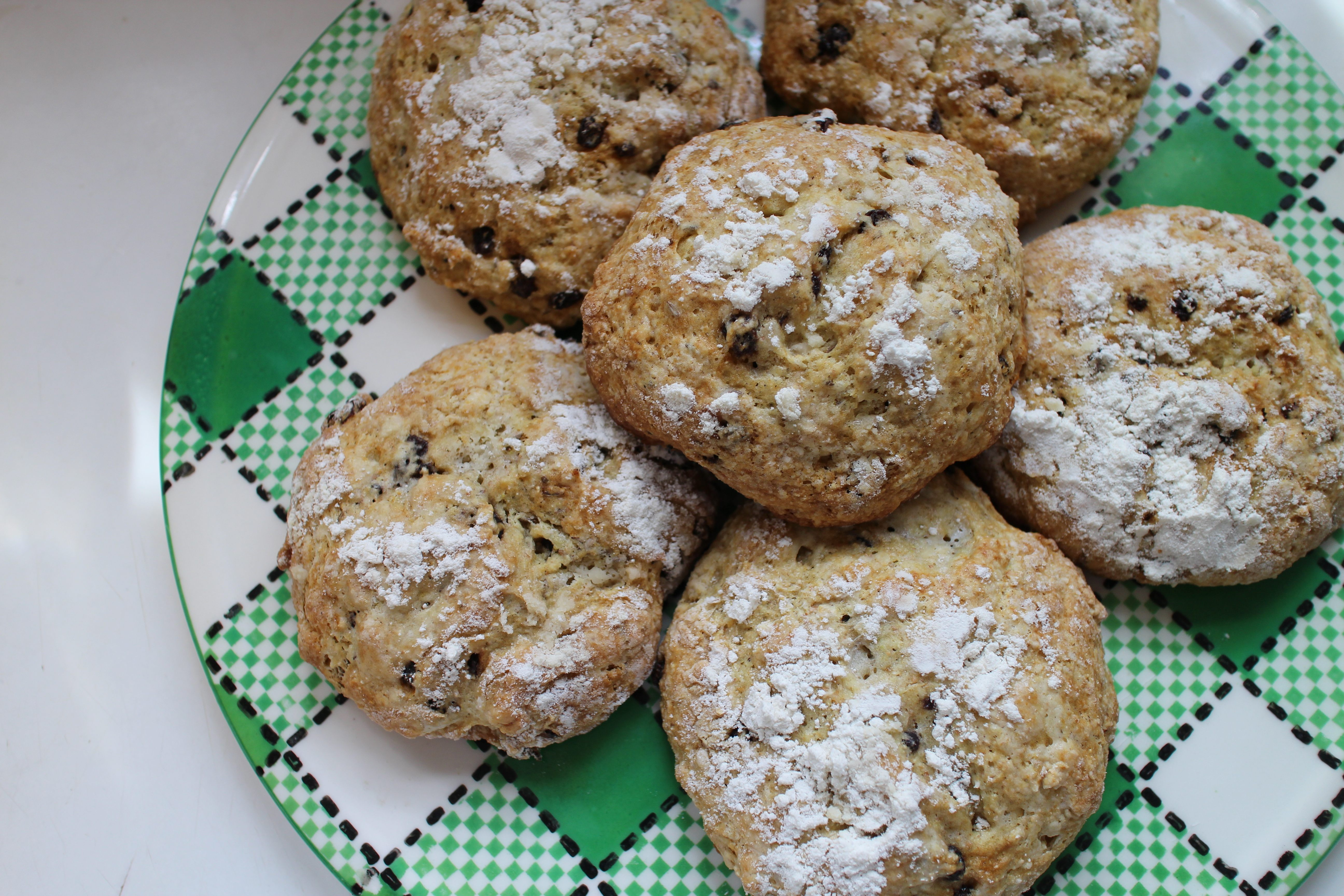Old Fashioned Crumb Buns Recipe