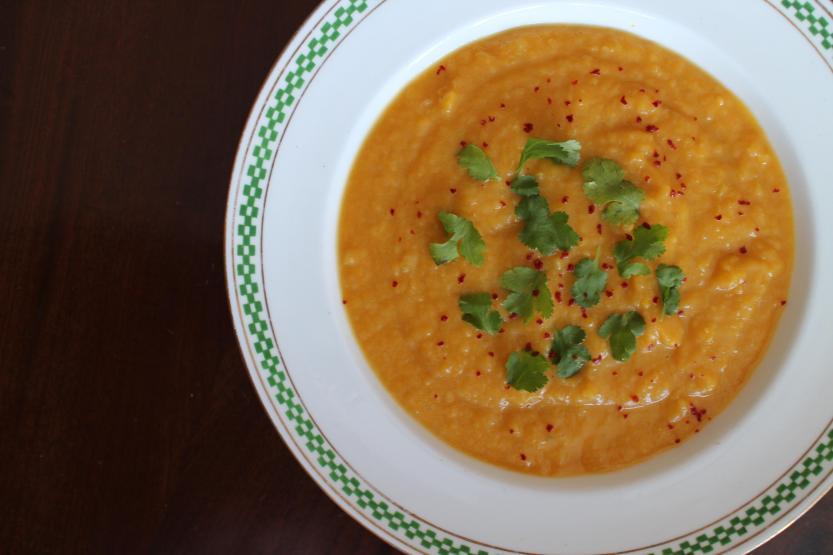 2014 0322 IMG_3982 Squash soup chai spices
