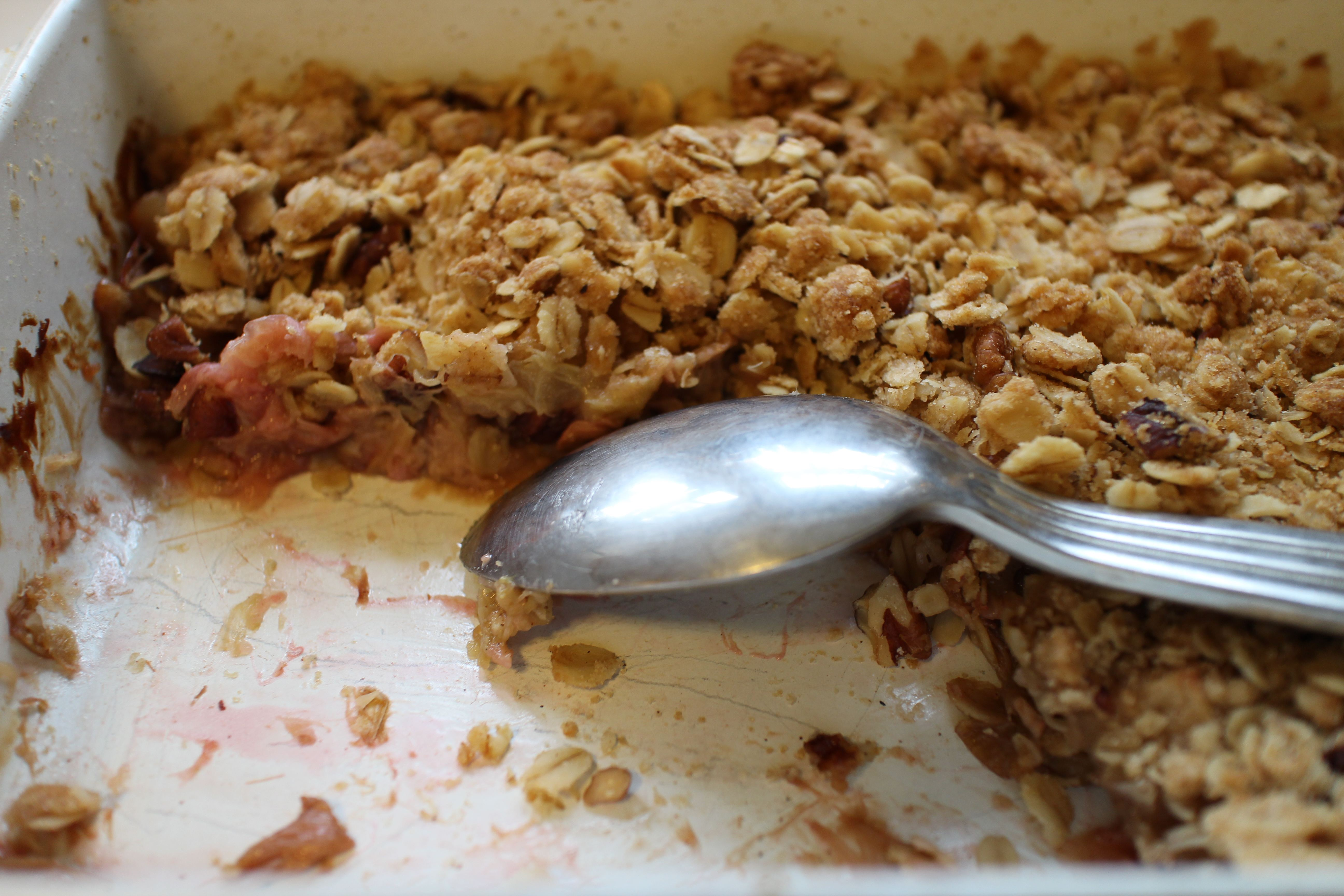 Rhubarb Apple Crisp | Prospect: The Pantry