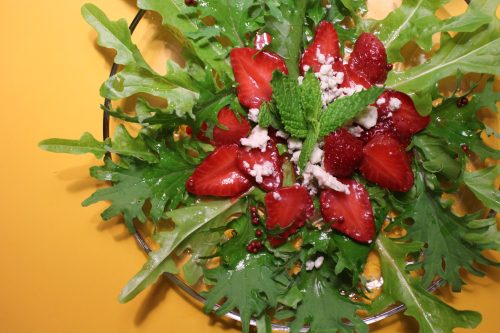 2014 0612 IMG_4522 Pickled strawberry salad