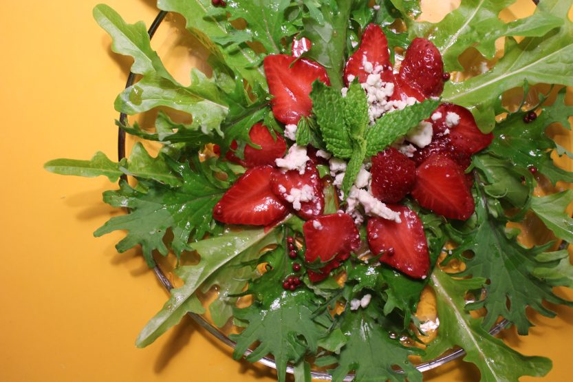 2014 0612 IMG_4522 Pickled strawberry salad