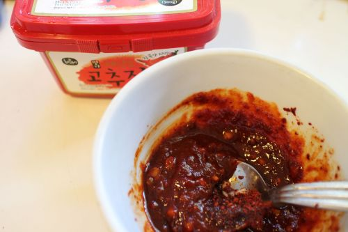 2014 0714 IMG_4795. Korean hot pepper paste sauce
