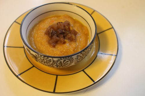 2015 0123 Curried squash soup