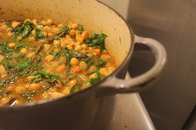 2015 0222 Moroccan chickpea stew